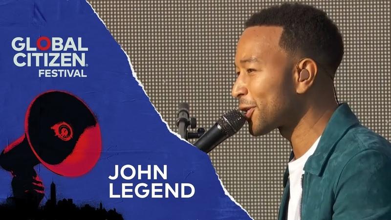 John Legend Performs Preach   Global Citizen Festival NYC 2018