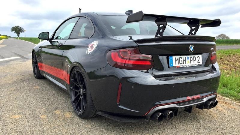 450HP BMW M2 PP Performance - Engine Start, Revs, Accelerations!
