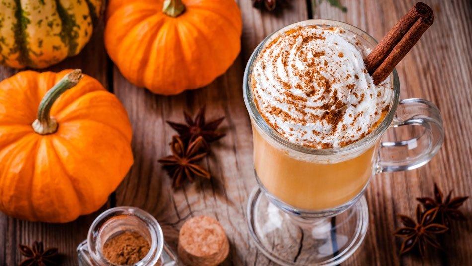 Тыквенный Латте рецепт и польза свежесваренного кофе