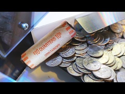 Coin Pusher || Quarter Roll On The Edge