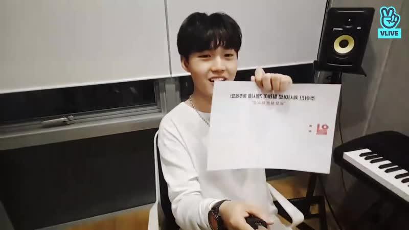 09.11.18 | YG Treasure Box | Treasure A6 | Kim Doyoung | V LIVE 1