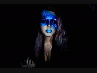Mistress of the night 🌌. Body art by Natali Star Art