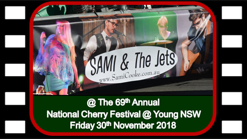 Sami The Jets Second Show @ The 69th Annual National Cherry Festival - Young 30112018