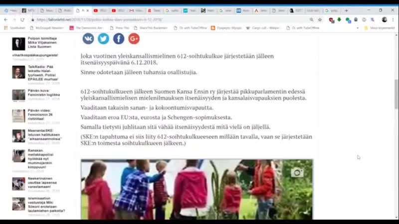 28.11.2018 Poliisi keskeyttää SKE 6.12-miekkarin. Totellaanko_ - YouTube (360p)