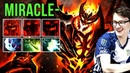 Miracle- Shadow Fiend New Meta Build with Maelstrom vs Phantom Lancer, Enough to carry alone? Dota 2