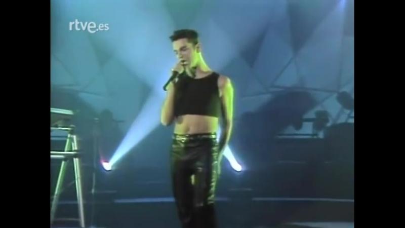 Depeche Mode Strangelove, Never Let Me Down Again (Sabado Noche, TVE1, Spain, 26.09.1987) www.depmode.com