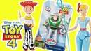 ОБЗОР игрушек: Disney Toy Story 4 Jessie, Bo Peep, and Buzz Lightyear