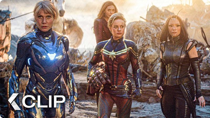 Female Avengers Unite Scene AVENGERS 4 Endgame 2019