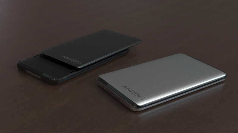 ANROM smart wallet, modern design, convenient and reliable