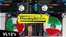 Hip Hop/Trap vs Funk Mix - Denon DJ VL12's X1800 Prime with Serato DJ Pro