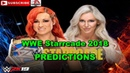 WWE Starrcade 2018 SmackDown Women's Championship Becky Lynch vs  Charlotte Flair Steel cage match