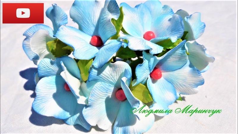 Цветы для пасхальной корзины для начинающих легко и просто МК