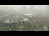 Снегопад в октябре в Екатеринбурге