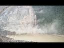 Landslide Resulting in Barrier Lake in Tibet