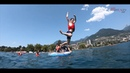 Swiss Hospitality Club 2018 - Paddle boarding in Lake Leman
