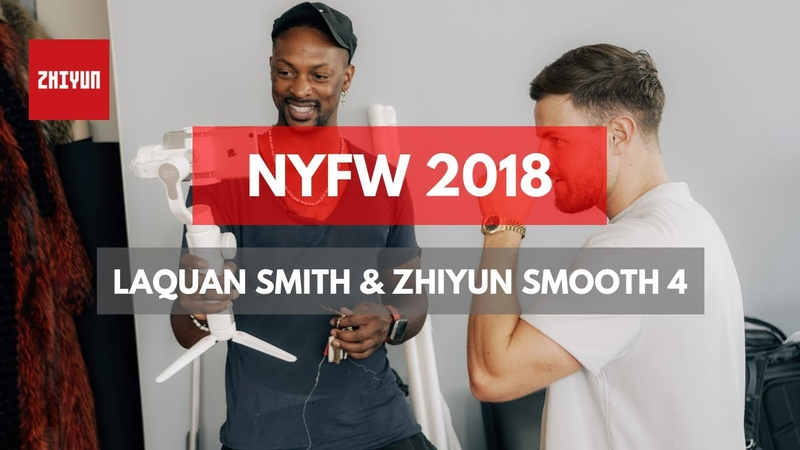 The Fusion of Technology and Fashion II | Zhiyun Smooth 4 and LaQuan Smith