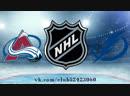 Colorado Avalanche vs Tampa Bay Lightning 08.12.2018 NHL Regular Season 2018-2019