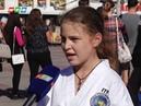 В Крыму отметили День герба и флага
