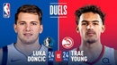 Luka Doncic and Trae Young Duel in Dallas!   December 12, 2018