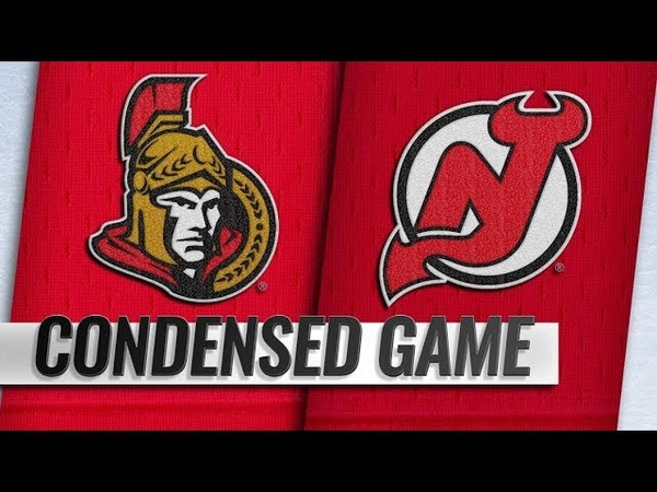 Ottawa Senators vs New Jersey Devils | Feb.21, 2019 | Game Highlights | NHL 201819 | Обзор матча