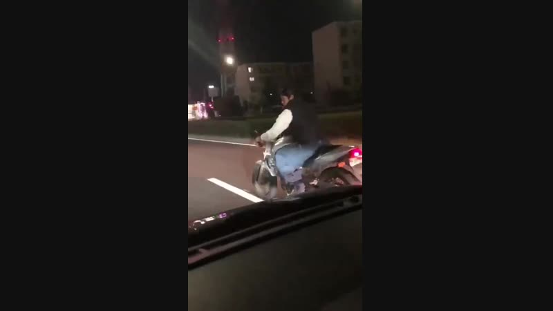 WCGW if I try to brake-check two cars simultaneously while riding a motorcycle?
