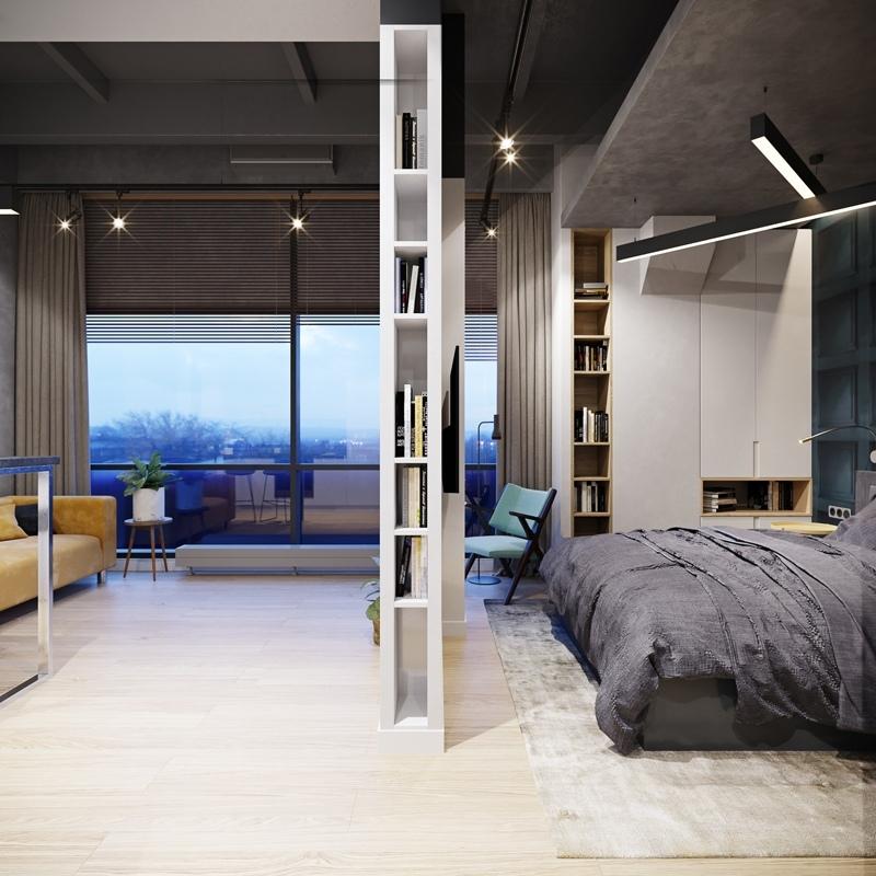 Дизайн-проект апартаментов 43 м.