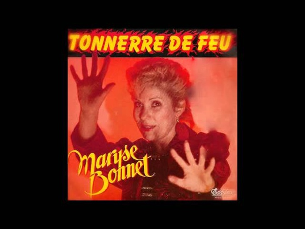 Maryse Bonnet - Tonnerre de feu (synth disco, France, 1984)