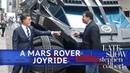 Stephen Drives NASA's Mars Rover With Neil deGrasse Tyson