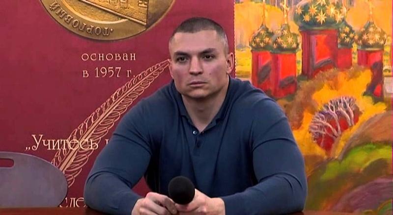 Сергей Тармашев в Библио-Глобусе