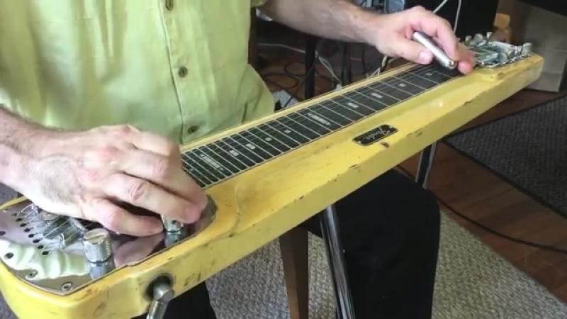 Steel guitar - Apache