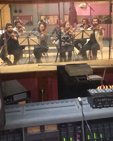 "Toygar Işıklı on Instagram ""O zaman Son ki üç döörrtt 😊 Recording Session 💥💥 kuzgun  @istanbulstrings"""