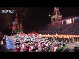 Прощание славянки в сомбреро в Москве стартовал ежегодный фестиваль военной музыки