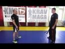 Защита от ударов палкой (битой, арматурой) сверху — урок крав-мага Егора Чудиновского