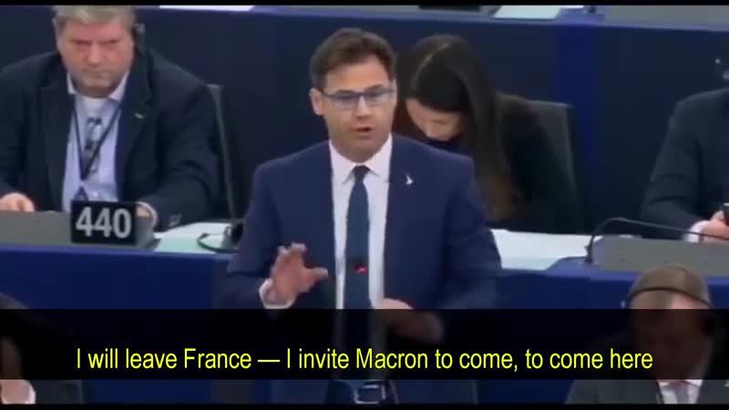 L'Europe ne peut pas continuer ainsi, nous devons nous réveiller ! Réveillez-vous ! - eurodéputé italien