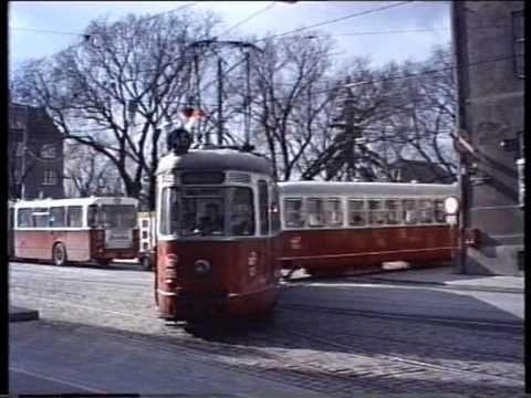 Strassenbahnen in Wien 1988
