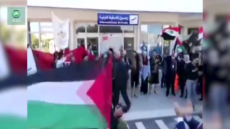 Сирия: первый рейс прибыл из Дамаска в Тунис после семилетней паузы
