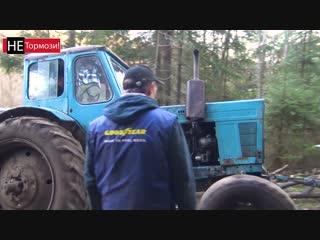 Что будет, если доверить запуск трактора Джиперам?