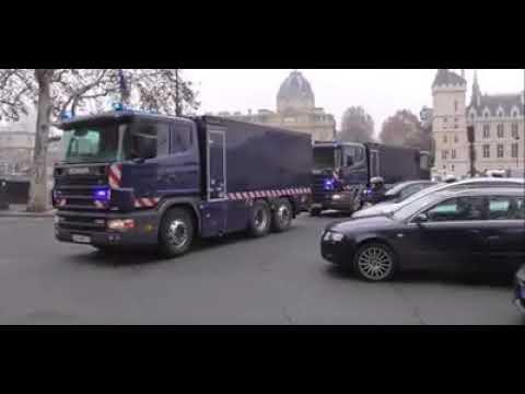 Gilets jaune Que se passe t'il en France ? c'est quoi ces camions 29/11/2018
