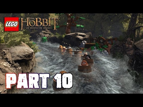 Melarikan Diri Paling EXTREME Pakai Gentong - Lego The Hobbit