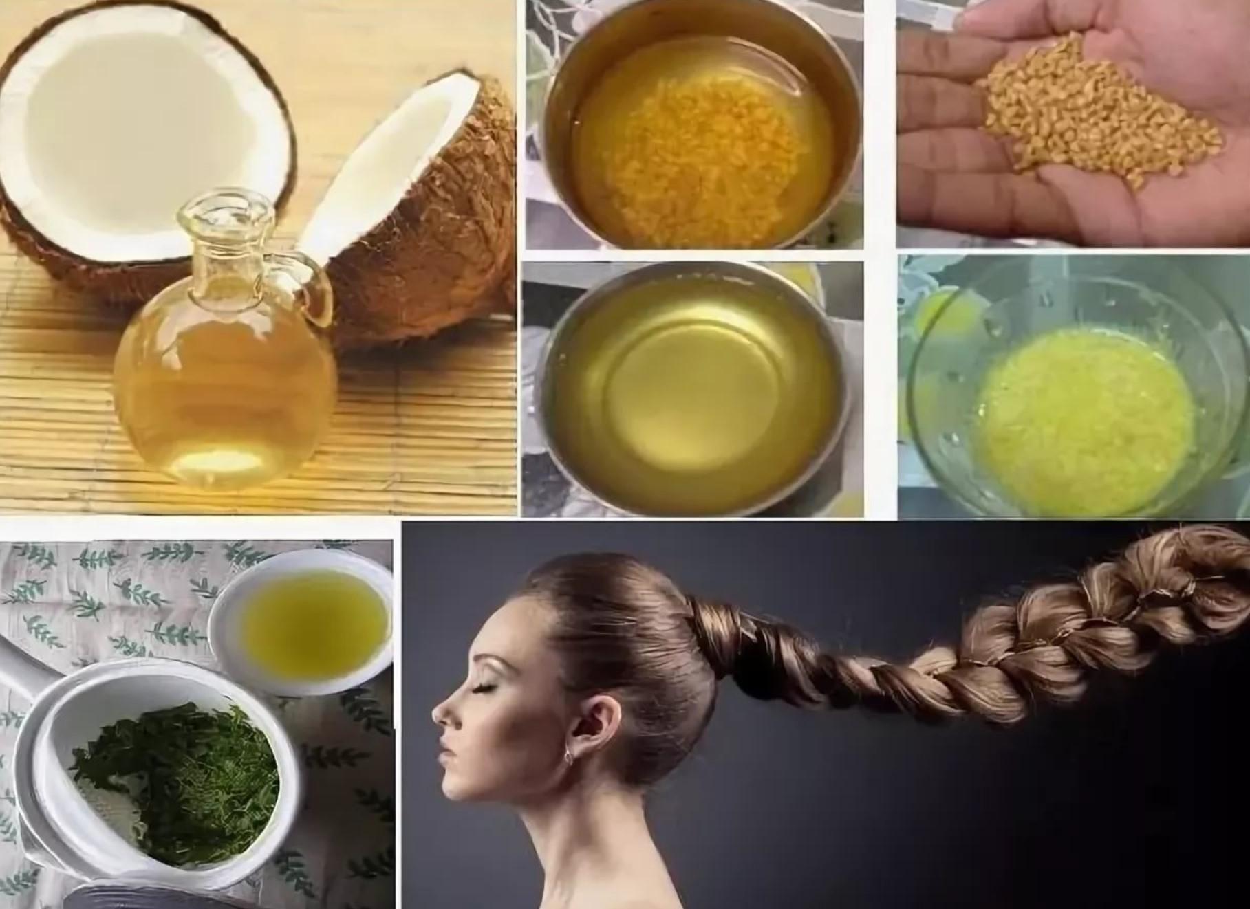 Уход за волосами народными средствами в домашних условиях