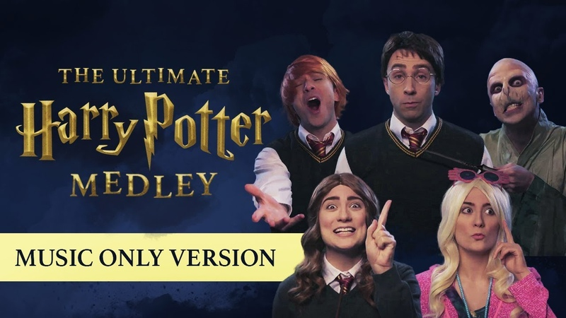 The Ultimate Harry Potter Medley MUSIC ONLY BTS