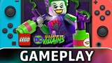 LEGO DC Super-Villains | First 60 Minutes on Nintendo Switch