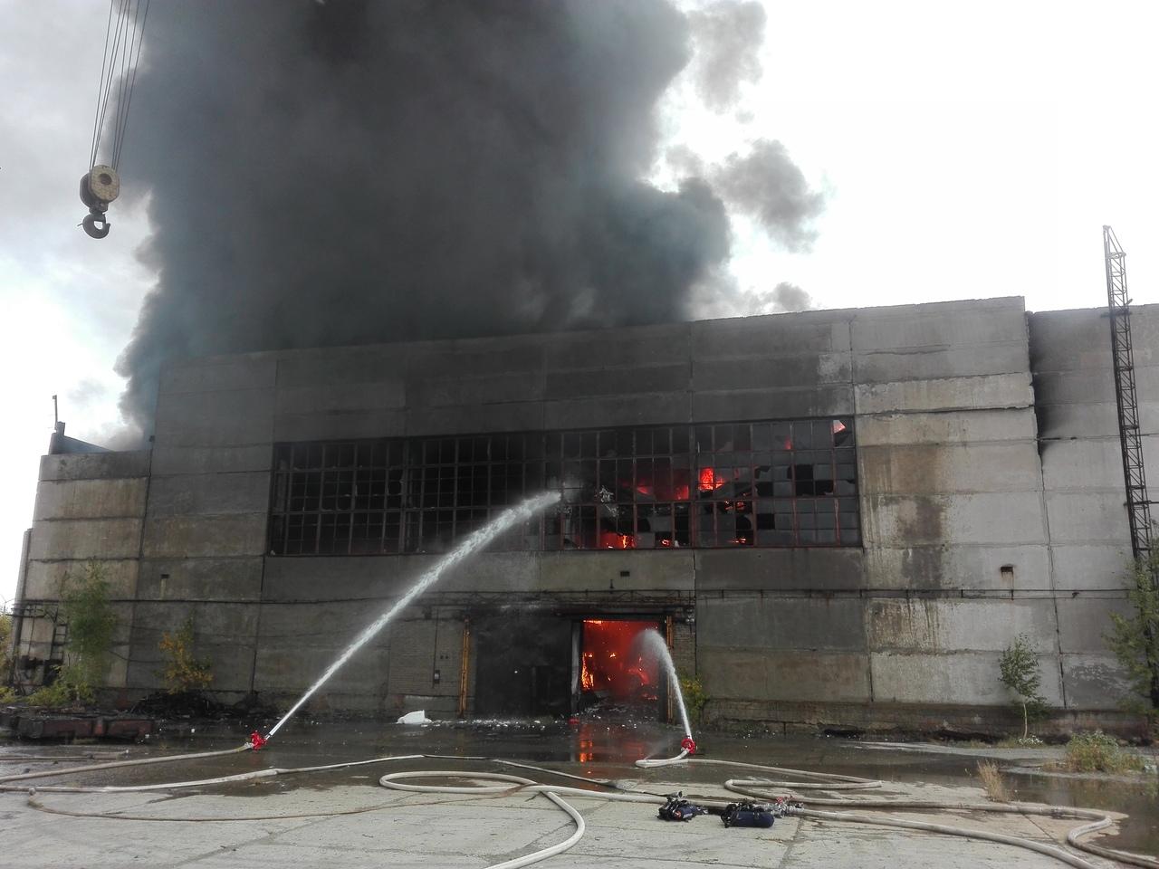 Подведены итоги проверки по пожару на бывшем
