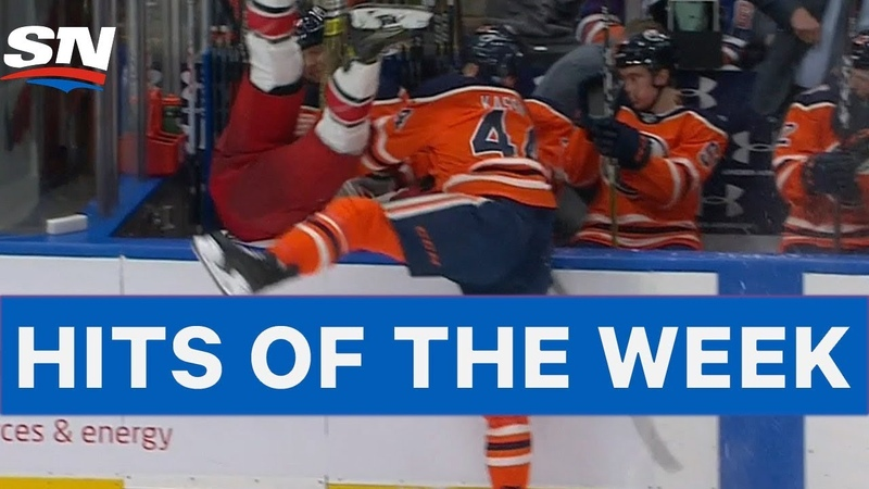 NHL Hits of The Week: Kassian Sends Martinook Into Bench