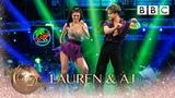 Lauren Steadman and AJ Pritchard Salsa to 'Familiar' Liam Payne and J Balvin - BBC Strictly 2018