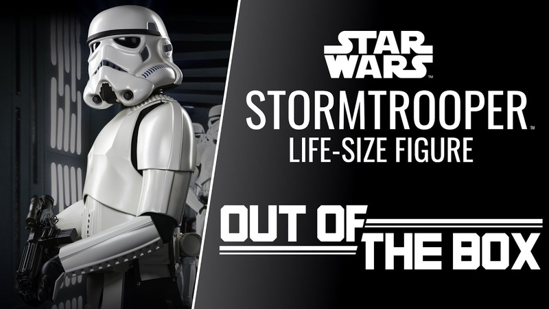 Stormtrooper Life-Size Figure - Out of the Box