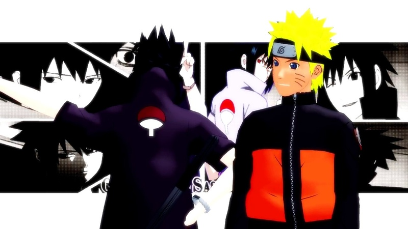 [MMD Naruto] Charasuke - I luv it Motion Dl (SasuNaru YAOI)