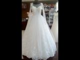 Для шикарной осенний или зимней свадьбы. Очаровательное платье с длинным рукавом❤️