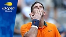 Juan Martin Del Potro Wins In Louis Armstrong Stadium - US Open 2018