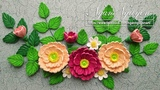 Tutorial Quilling Peony Rose Flowers